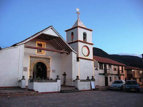 Iglesia de Tópaga. Boyacá. Colombia.