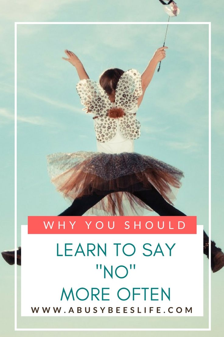 Saying no is the best thing you can do for yourself to avoid unnecessary stress and overwhelm. You will be glad you learned how to. via @abusybeeslife