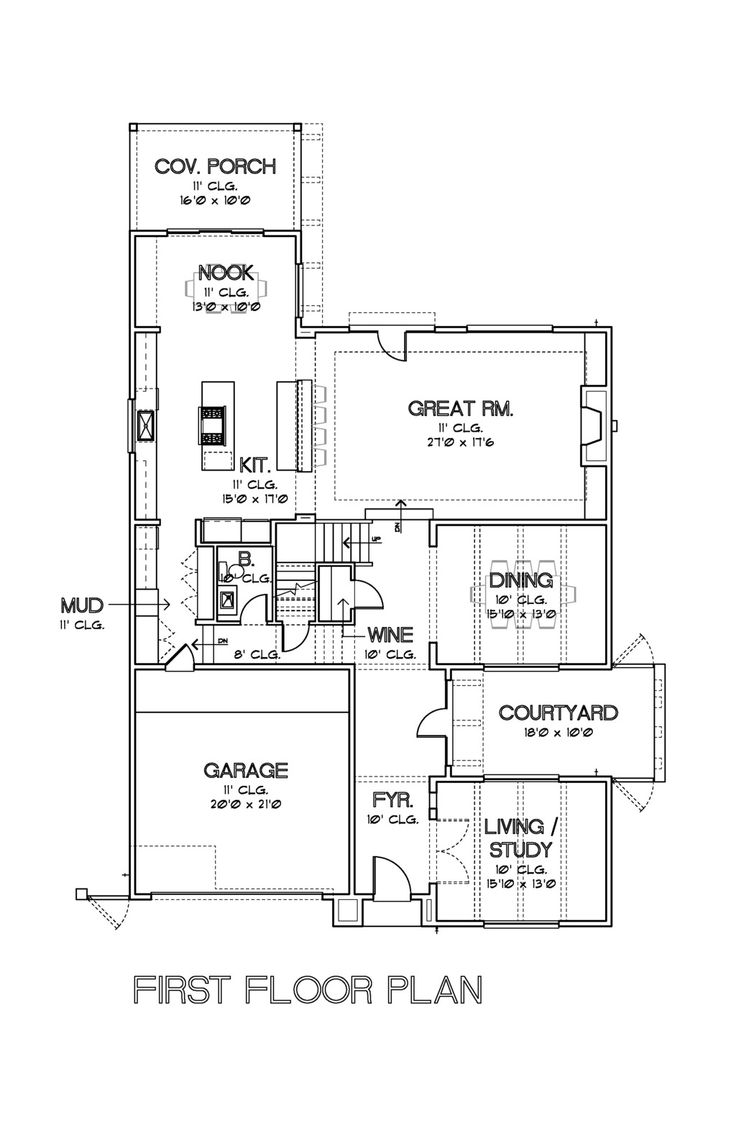Modern Plan By David Cox Great Floor Plans Pinterest