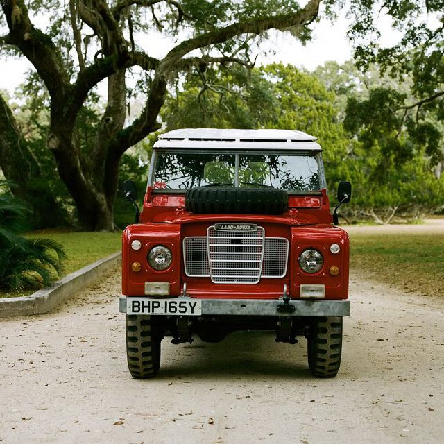 1980 Land Rover Defender, always wanted a Defender to potter around in.