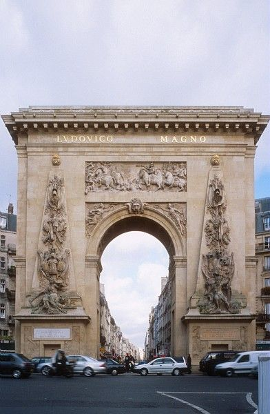 Arco de Saint Denis, París, Francia.