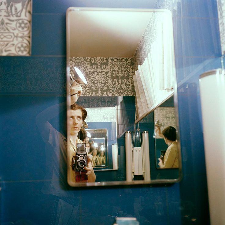 Vivian Maier selfies