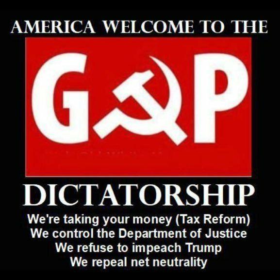 Sounds like a dictatorship to me.