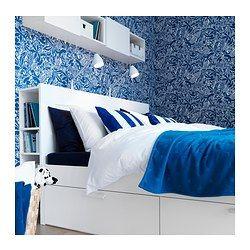 Brimnes sengestel med opbevaring 180x200 cm ikea - Letto ikea brimnes ...