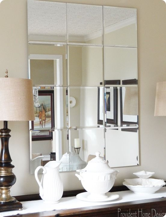 Two Takes On A Pottery Barn Knock Off Mirror