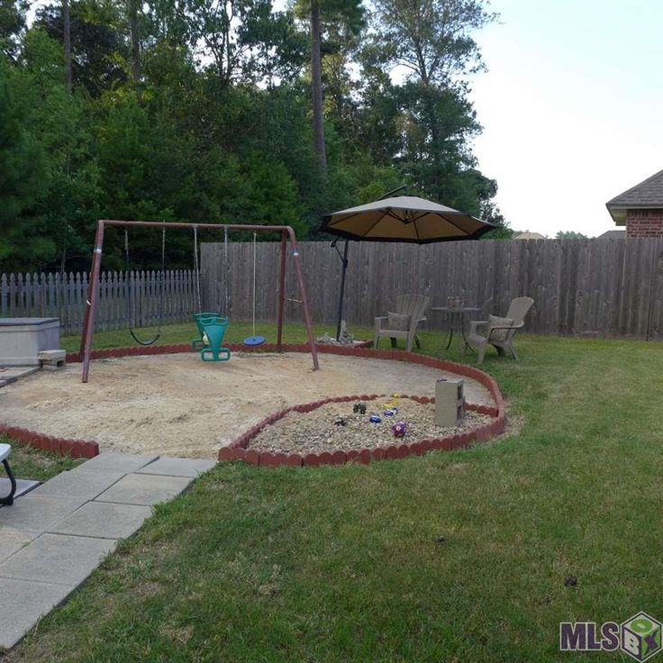 Great idea for covering up that ugly spot when removing an above ground pool. | DIY prep to sell ...