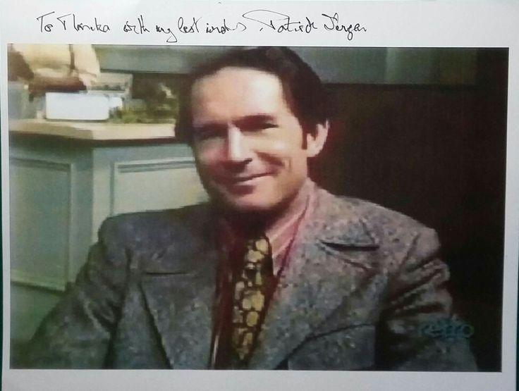 Autograph of Patrick Horgan (Dr. John Morrison):
