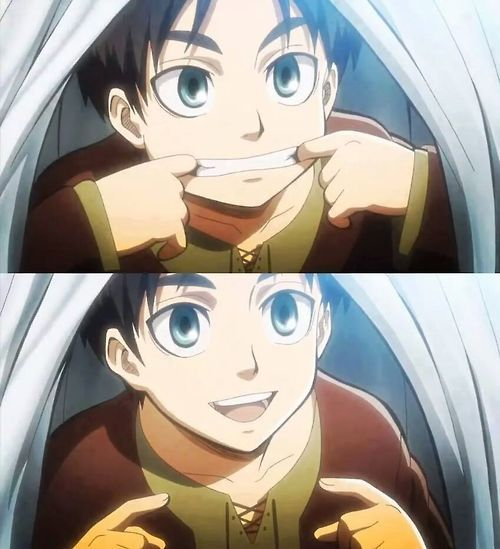 Attack on Titan ~~ Once upon a time, even Eren Jaeger was an adorable little kid. Playing while his mother did the laundry and making her smile with his sweet face. Then titans came...