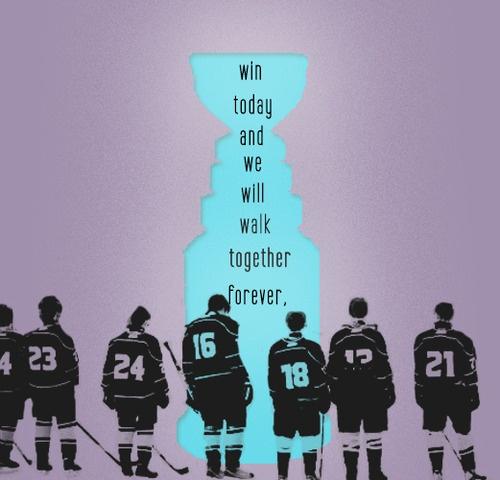 because winning creates a bond like no other