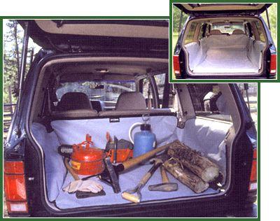 Hyundai Santa Fe 2007-2009 (2nd Row Seat Folded Down) Hatchbag Cargo Liner