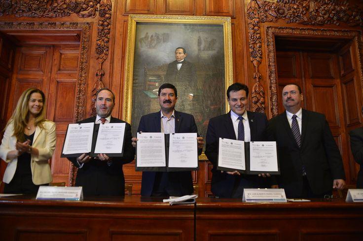 Firman gobierno y UACH convenios de propiedad intelectual con el IMPI