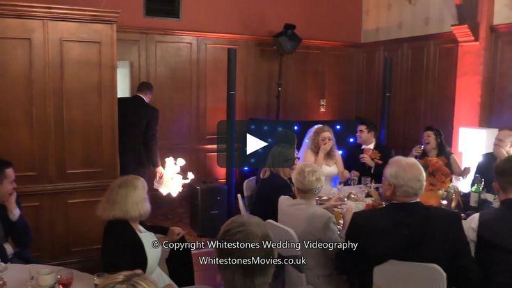 Best Man's speech goes up in Fire! Literally! http://ift.tt/2eCadRI