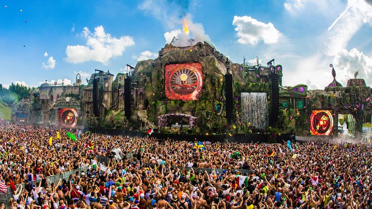 I wanna go to Tomorrowland
