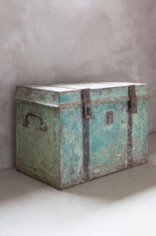 """This vintage chest is from our feature """"Restored Splendour"""""""