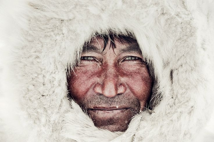 The Nenets still rely on traditional clothing sewn by the women. Nenets men wear a Malitsa, which is a coat with hood made of around 4 reindeer skins, fur on the inside and leather on the outside. In extremely cold conditions, men wear yet another layer of reindeer fur, known as a Gus.