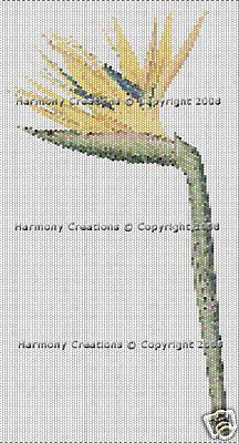 015 Bead Pattern Bird of Paradise Flowers Peyote Stitch Deli - Beads & Jewelry Making
