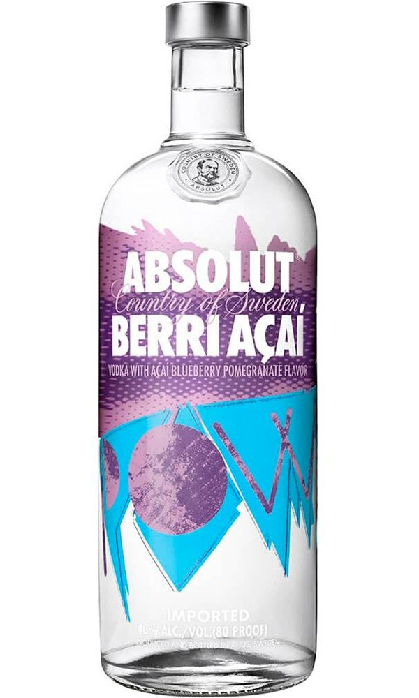 Vodka Absolut Berri Açaí