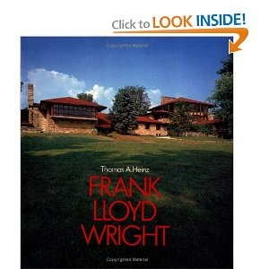 This book is about a other Architect who influences me... Frank Lloyd Wright.
