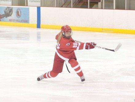 Women's hockey schedule