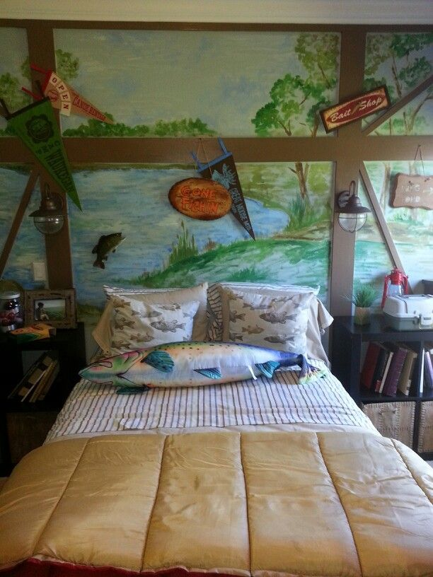 17 Best Ideas About Boys Fishing Room On Pinterest Boys Fishing Bedroom Fishing Bedroom And