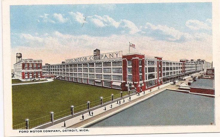 132 best industrial age images on pinterest for Ford motor company detroit mi