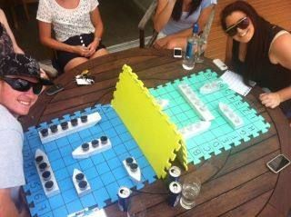 "way to bring back a childhood favorite. ""Battle Shots"". haha."