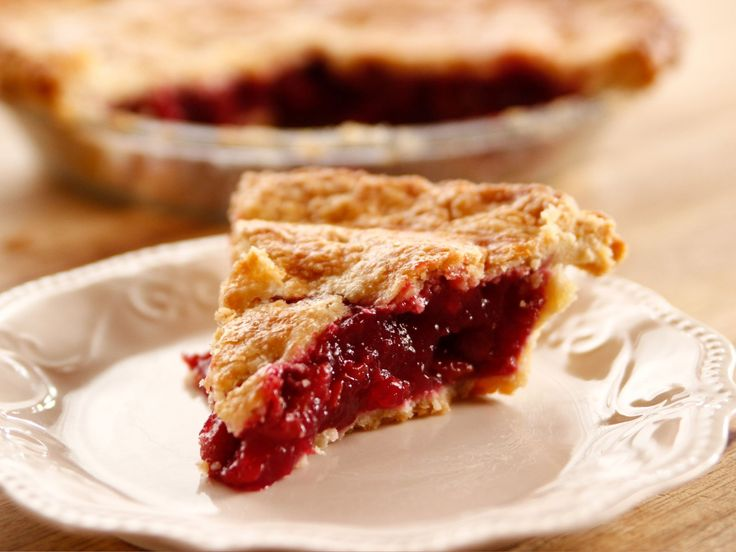 Cherry Pie recipe from Ree Drummond via Food Network (Season 13 -- Mom's Day)