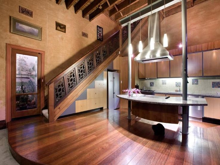 Wow - best kitchen I've seen; and is that a cat under the counter?