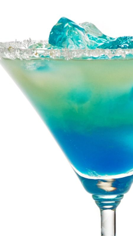 Frostbite Recipe ~ 1½ oz tequila - 1 oz cream - ½ oz blue curaçao - 1 oz chocolate liqueur - ½ oz crème de menthe... Shake and strain into an ice-filled glass.