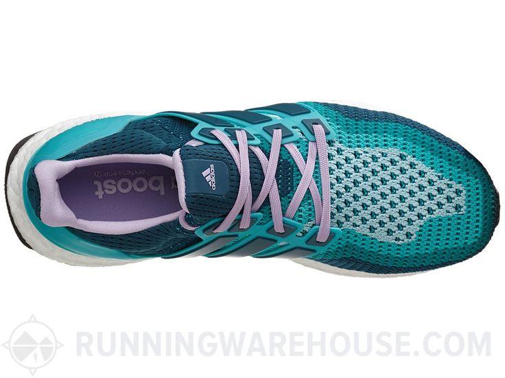 Adidas Ultra impulso das mulheres Verde / Minerais / roxo