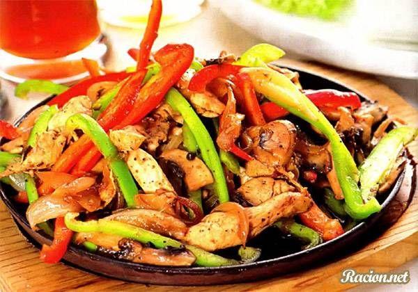 Рецепт Свинина с грибами по китайски. Приготовление   блюда