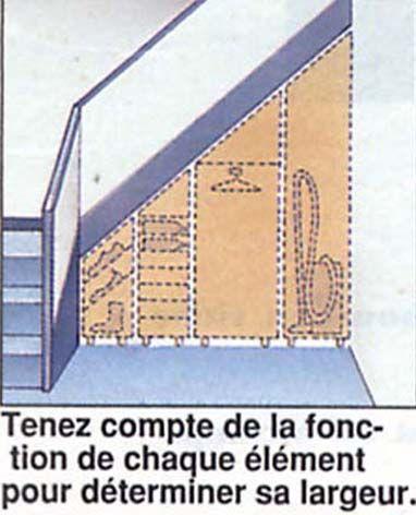 Les 125 meilleures images propos de brico rangement placards sur pinterest - Amenagement sous escalier castorama ...