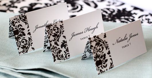 Decorative Tape in Action: Damask Wedding Ideas (Part 2) Another Five Do-It-Yourself Damask Decoration Ideas