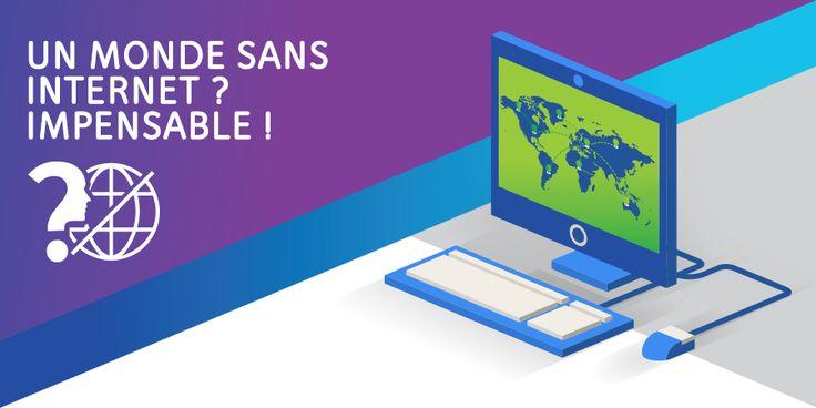 Un monde sans Internet ? Impensable ! Découvrez 16 faits intéressants relatifs à l'utilisation d'Internet en Suisse. Voir l'infographie!