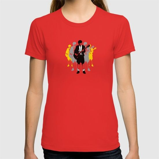 Taking The Lead T-shirt @society6 #society6  #red #popart #popculture #icons #rock #fashion #gibsonsg #angus #acdc #rocklegend #guitarist #guitarhero #bands #s6 #highwaytohell #backinblack #rockchick #leadguitarist #heavymetal #angusyoung #designer #art #redshirt #girlsfashion #leisurewear #instalike #tshirt #acdcfan