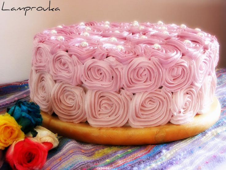 Girly vintaze cake