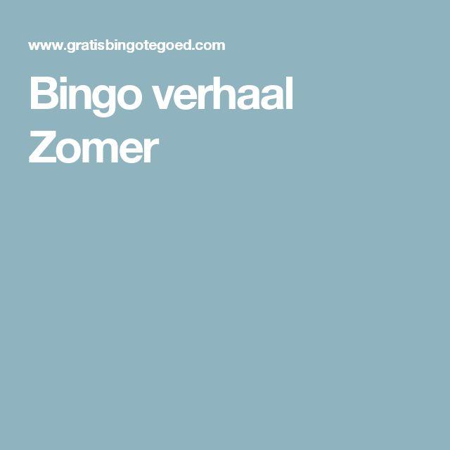 Bingo verhaal Zomer