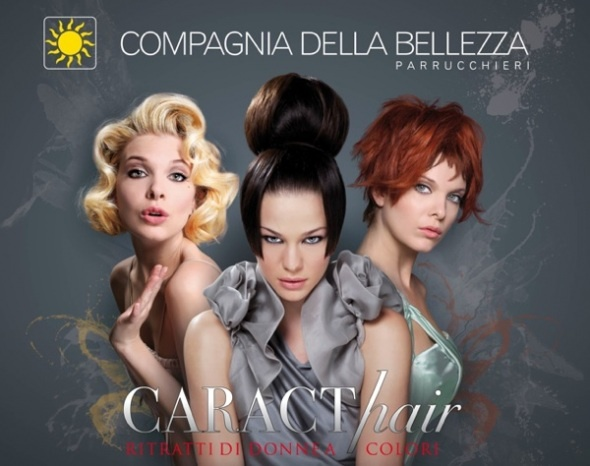 Compagnia della #Bellezza launches #CARACThair, the new collection S/S 2012