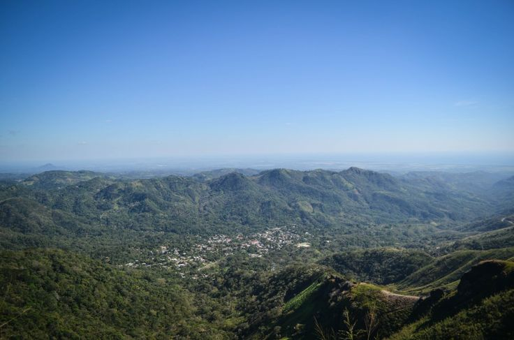 View of Panchimalco from La Puerta del Diablo | El Salvador