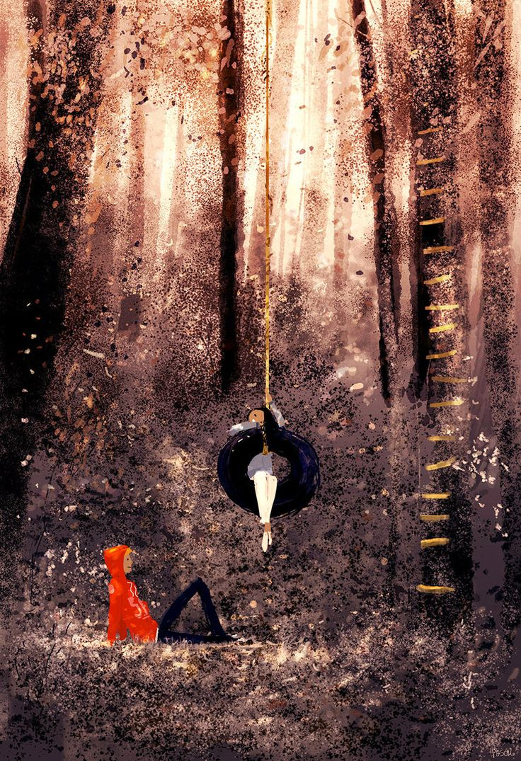 The enchanted forest. by PascalCampion on DeviantArt