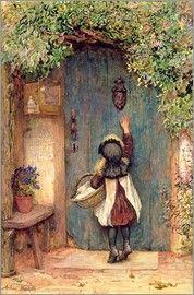 Arthur Hopkins - Kleine Besucherin