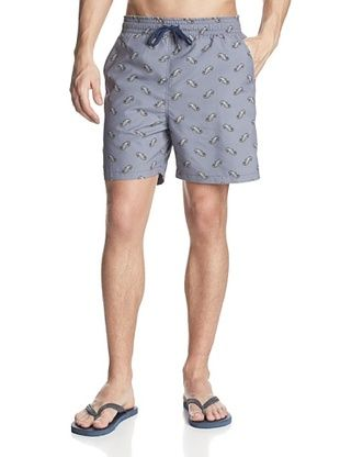 69% OFF Reyn Spooner Men's Ocean Rodeo Swim Trunk (Denim)