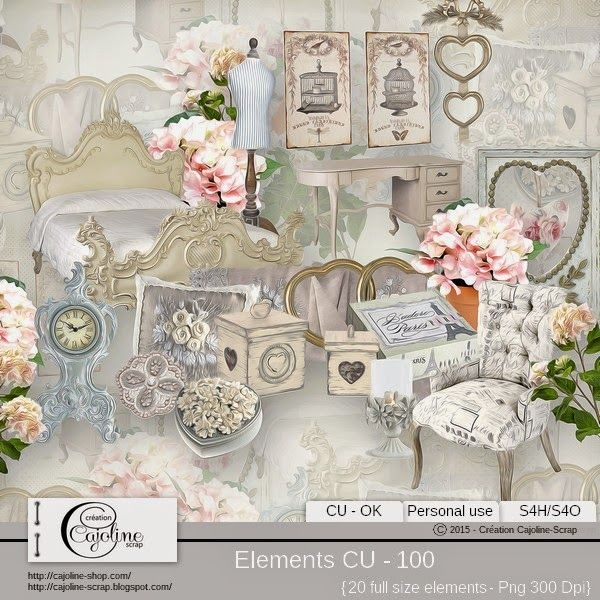 CAJOLINE-SCRAP: Elements CU - 100