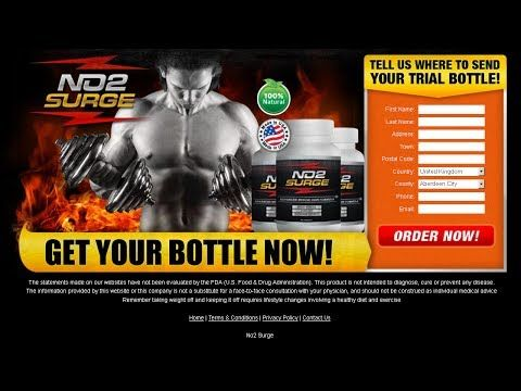 NO2 Surge Review - The Quickest Way To Build Your Muscle With NO2 Surge Free Trial