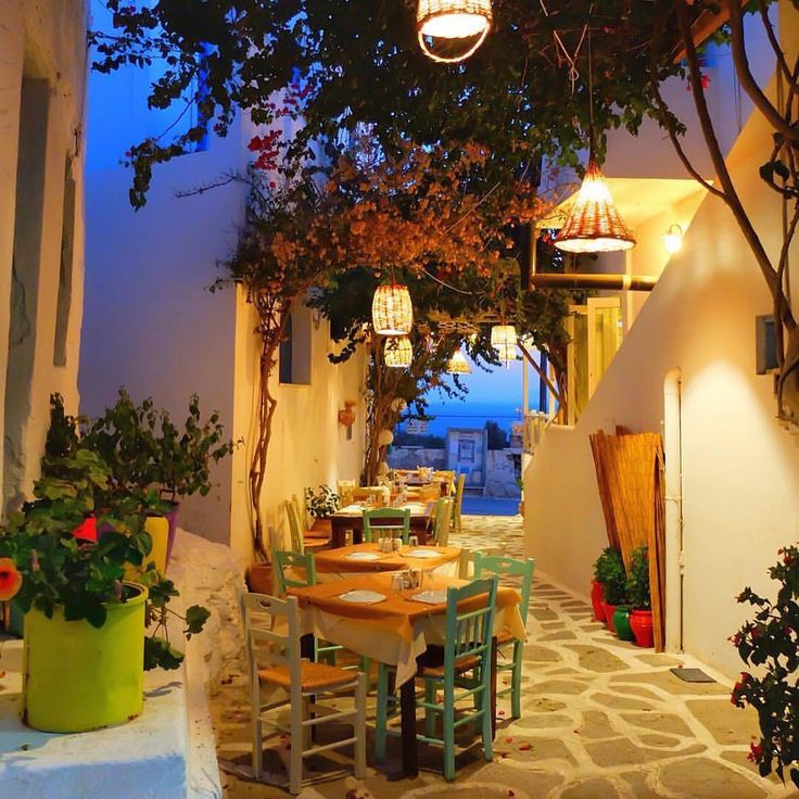 island of Schinoussa (Σχοινούσα) A Dreamy place to enjoy your dinner !!