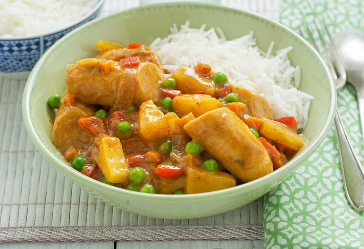 This fruity curry is a fantastic weeknight winter meal for the family. Packed with vegies, it's healthy(ish) and delish.