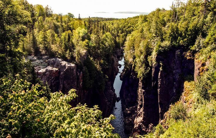 https://flic.kr/p/uAbE3z | Aguasabon River Gorge, Terrace Bay, Ontario