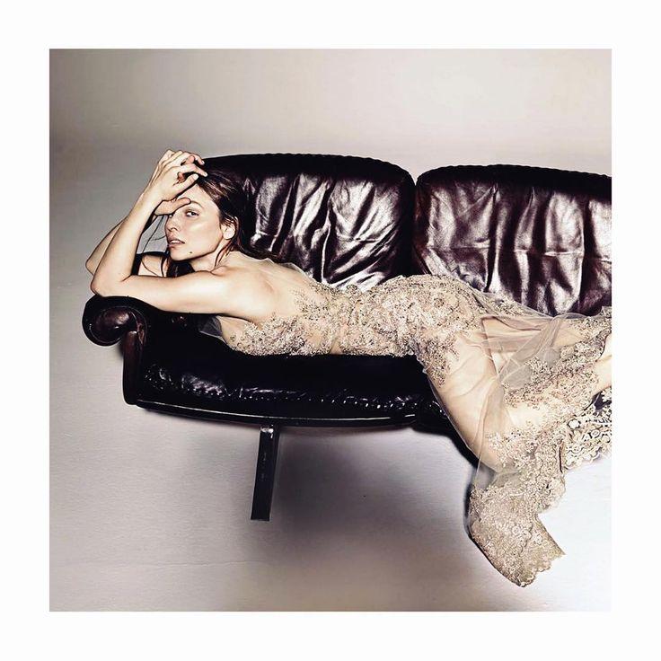 Mina Tander in the Rheingold Dress 👏🏼 As seen in Stern Magazine