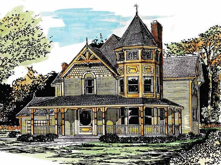 1000 Ideas About Victorian House Plans On Pinterest