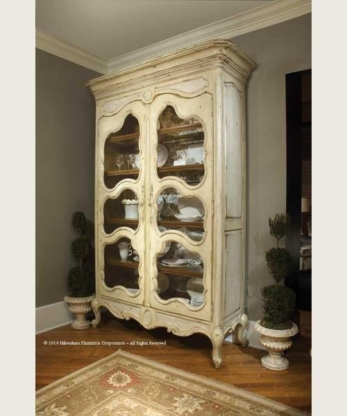 Habersham camille armoire household furniture for Habersham cabinets cost